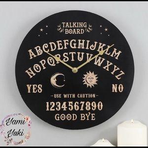 2/85$🔥 Large Ouija Board Clock BNIB
